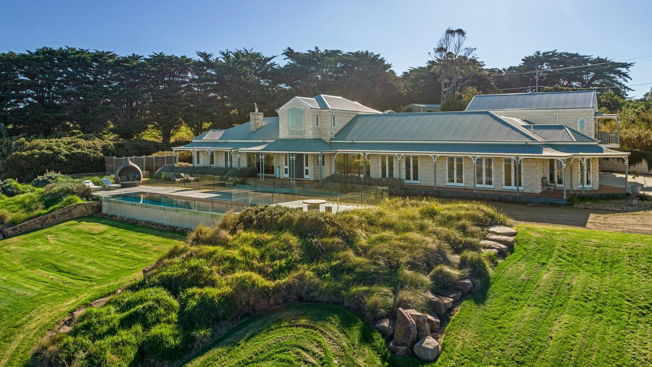 The 27 Razorback Road, Flinders, house has plenty of space to enjoy some fresh air.