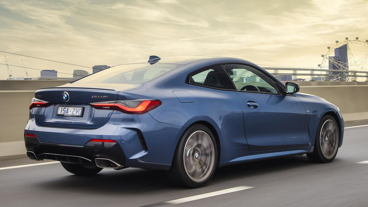 Powered by a turbo six-cylinder, the 2021 model BMW M440i packs some punch.