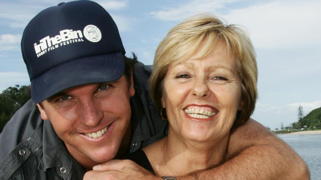 Jed Cahill with his mum Lynley Cahill