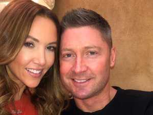 Clarke comes clean on ex-wife rumours