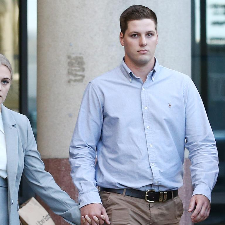 Timothy England was found not guilty of unlawful striking causing death. Picture: Brendan Radke