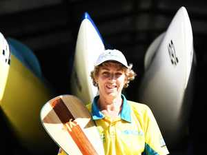 Country's leading paddlers in action at Emu Park