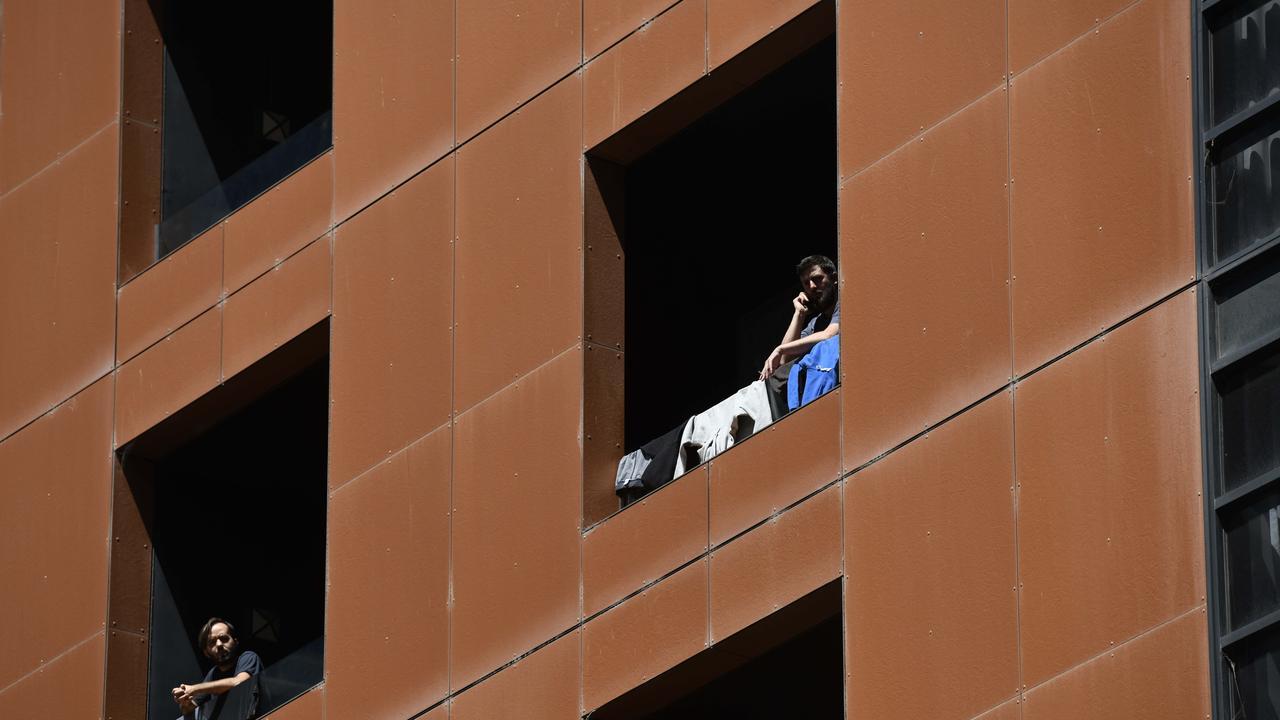 The little boy was taken to hospital. Picture: NCA NewsWire / Naomi Jellicoe