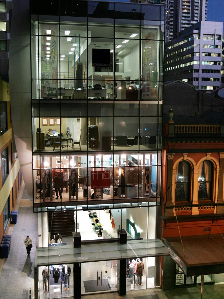 XILE's former fashion headquarters and flagship store in Elizabeth St. File picture