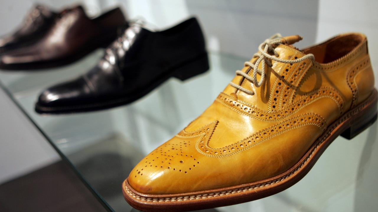 Shoes on display at an Xile store in Brisbane's CBD. File picture