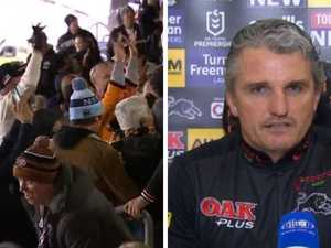 NRL coach's laughable four-word response