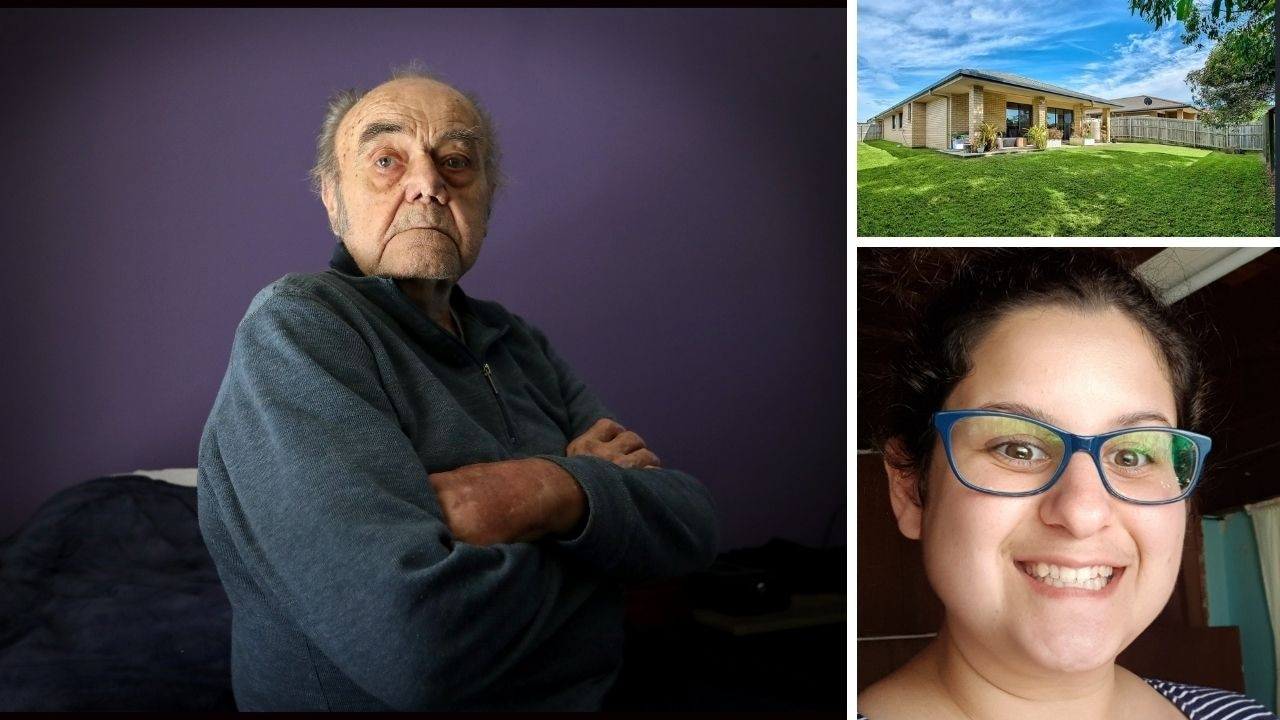 A 90-year-old granddad claims his granddaughter assured him he would have a home for life if he helped her purchase a home. Now he says he's been 'abandoned'.