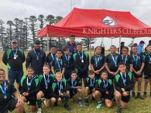 NRL star's amazing impact on bush footy kids