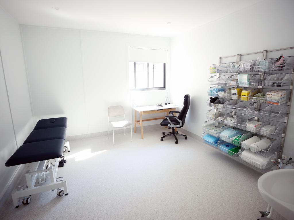 A GP consult room at Wandi Nerida. Picture: Lachie Millard