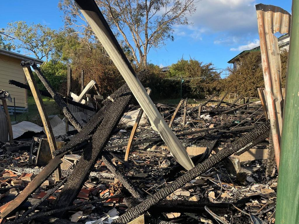 47 years of memories were destroyed in the blaze. Picture: Crystal Everitt
