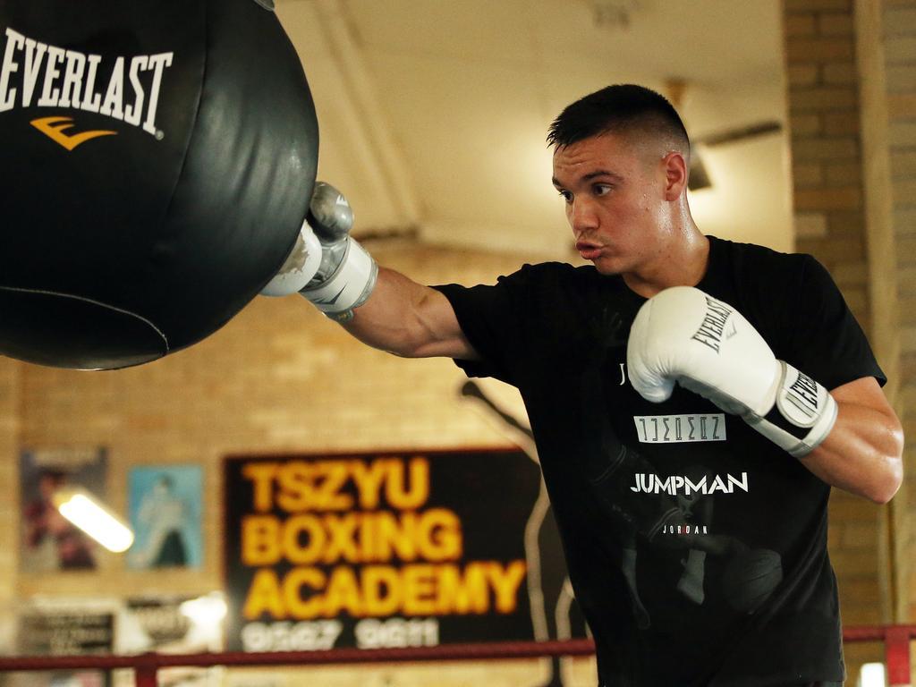 Tim Tszyu has shifted his training camp to Queensland.