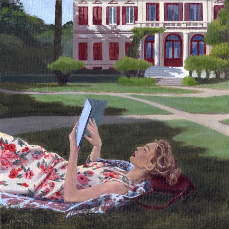 Lost in the book Picture: Jennie Rutz