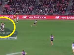 AFL star slammed for dirty dumb act