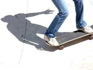 Skate park injury will require stitches