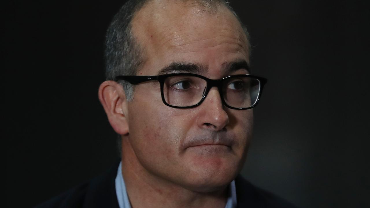 Victorian Acting Premier James Merlino said both new cases were linked. Picture: NCA NewsWire/David Crosling