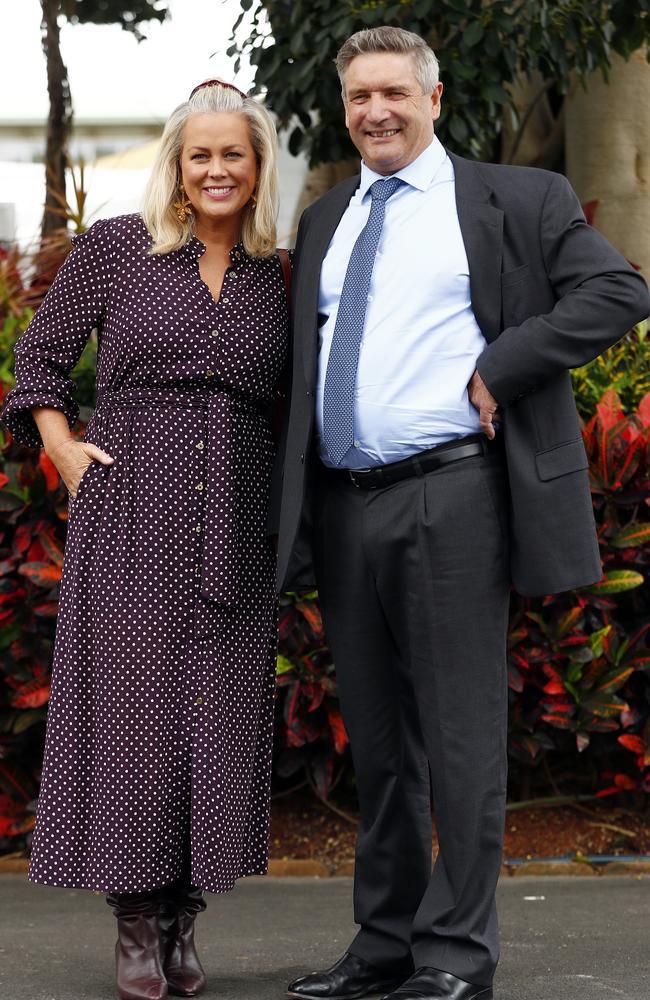 Samantha Armytage and her husband, Richard Lavender. Picture: Sam Ruttyn