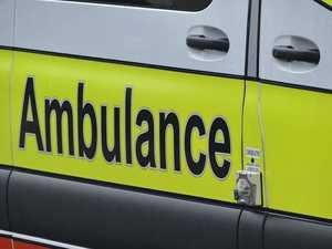 Woman thrown from motorbike in multi-vehicle smash