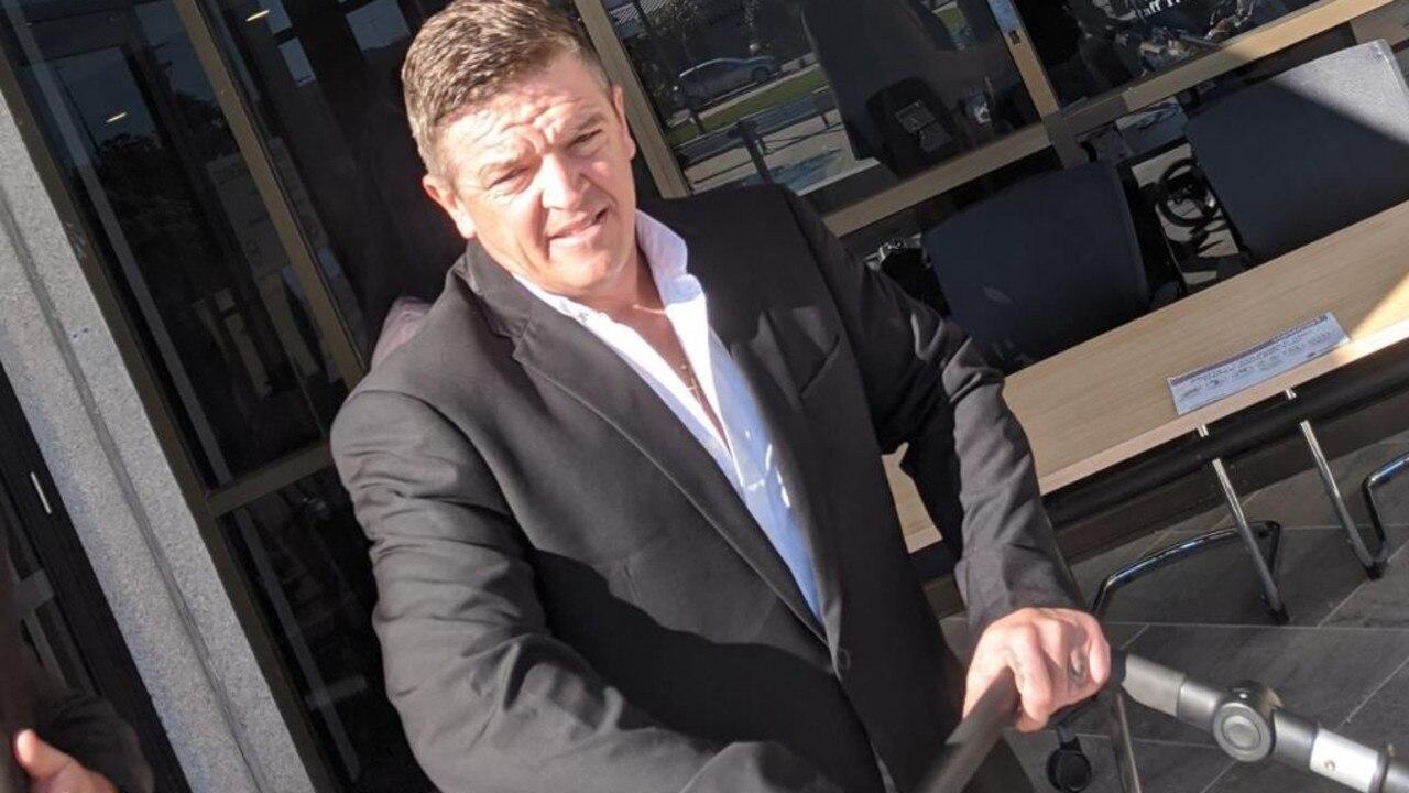 Serial unlicensed driver Anthony Chaszczweski.