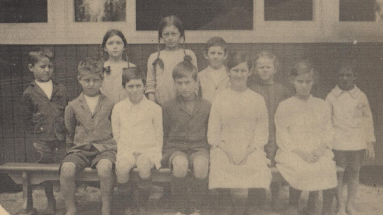 First day pupils at Chevallum State School in 1921 Picture: Unknown