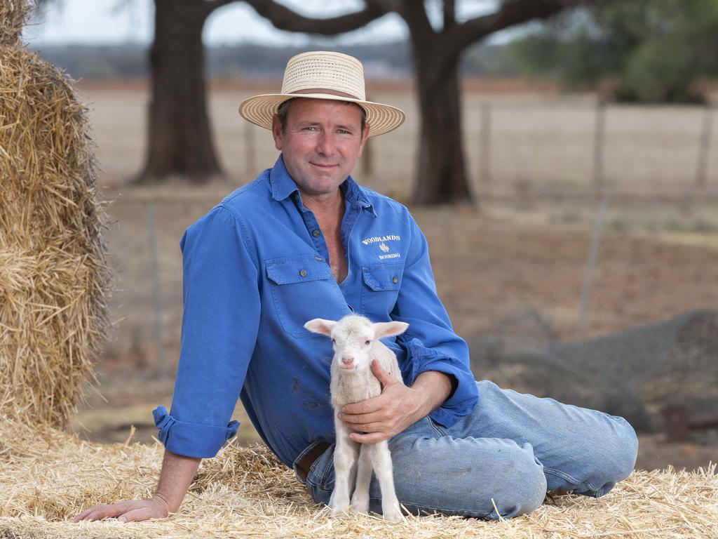 Victorian farmer and Grain Growers Association chairman Brett Hosking at his Oakvale farm. Picture: Rob Leeson