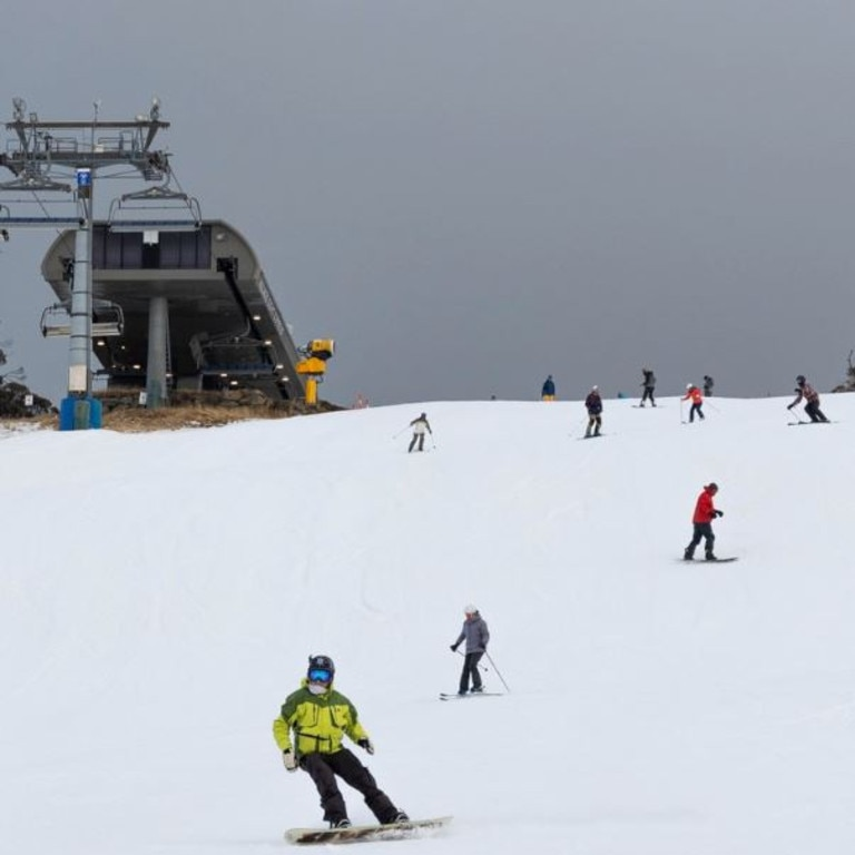 Perisher has opened a week early due to the colder conditions.