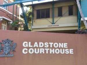 Young  man in court for damaging police property