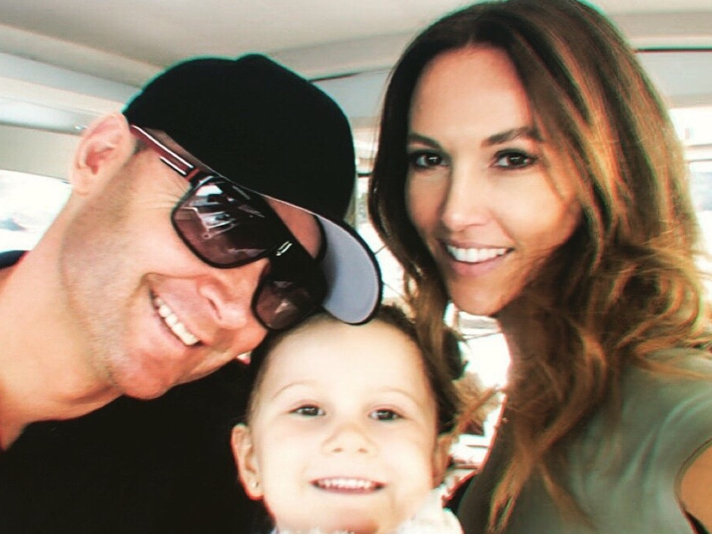Kyly and Michael with their daughter Kelsey-Lee.
