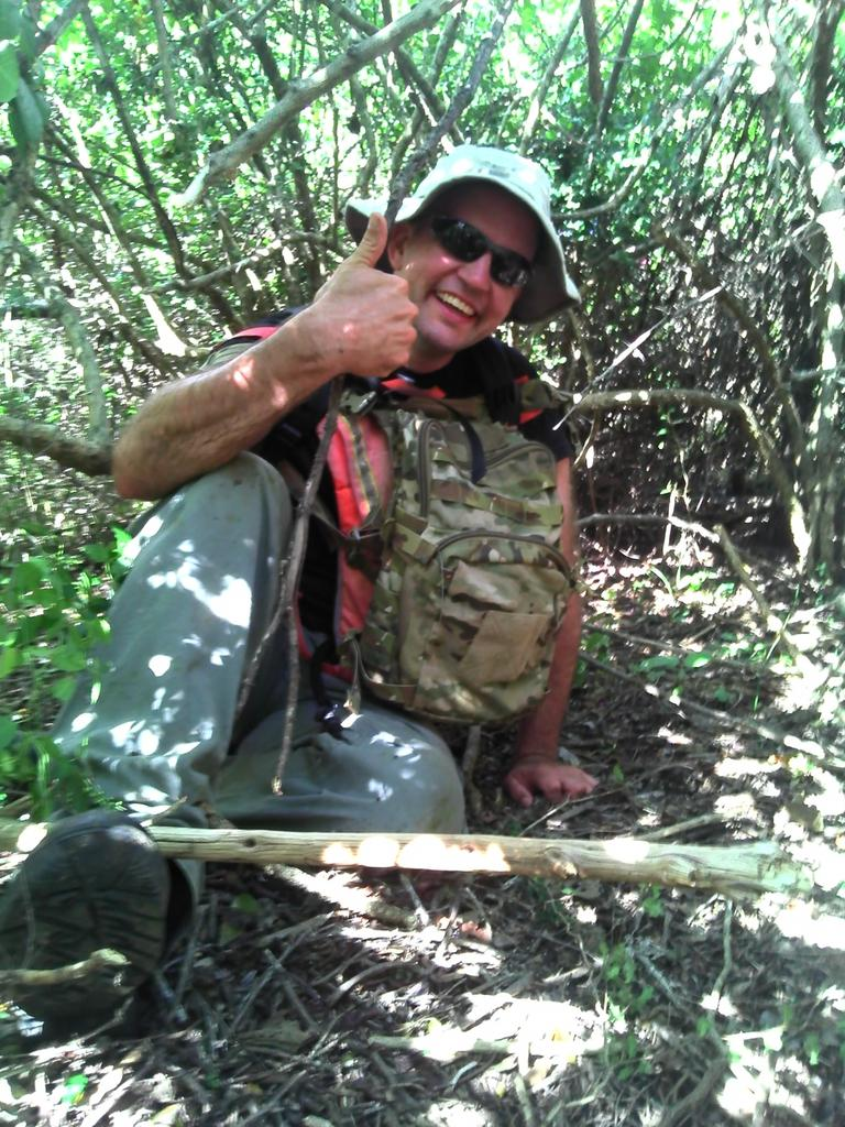 Queensland Remote Area Tracking member Matthew Munchow. QRAT also works with persons who have served or are serving in the defence forces or emergency services, and are suffering from post traumatic stress disorder, depression, anxiety, social isolation and substance abuse. Picture: Contributed