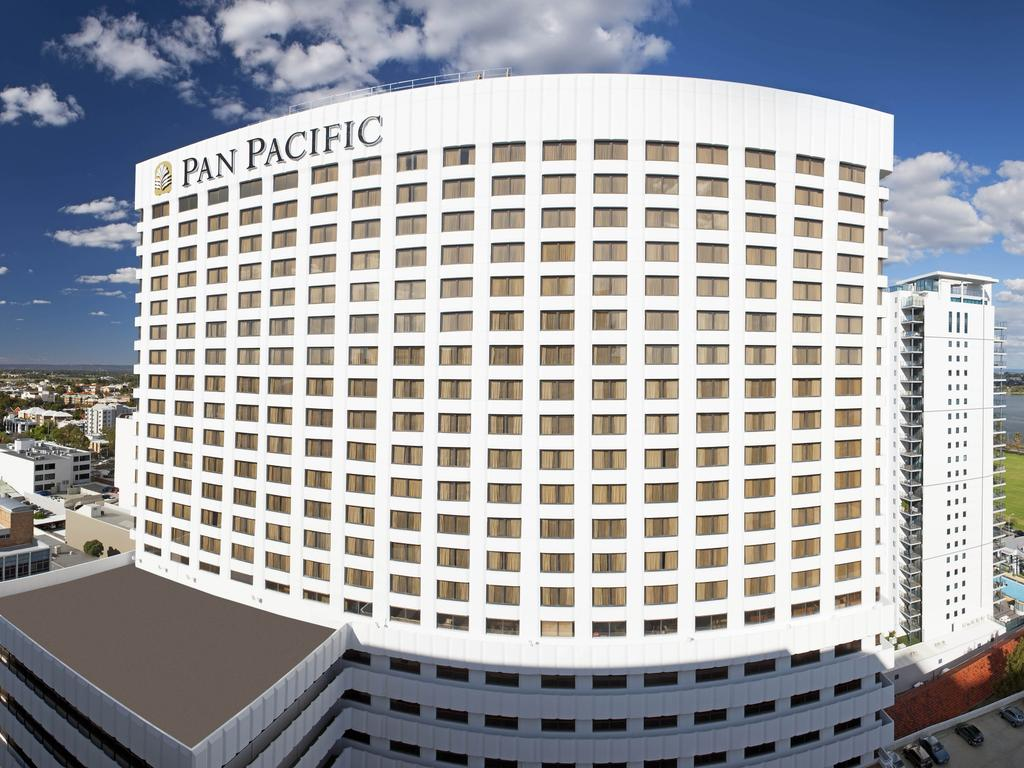The Pan Pacific hotel in Perth. Picture: supplied