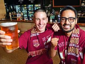 12,000 pies and 500 litres of rum: City gears up for Origin