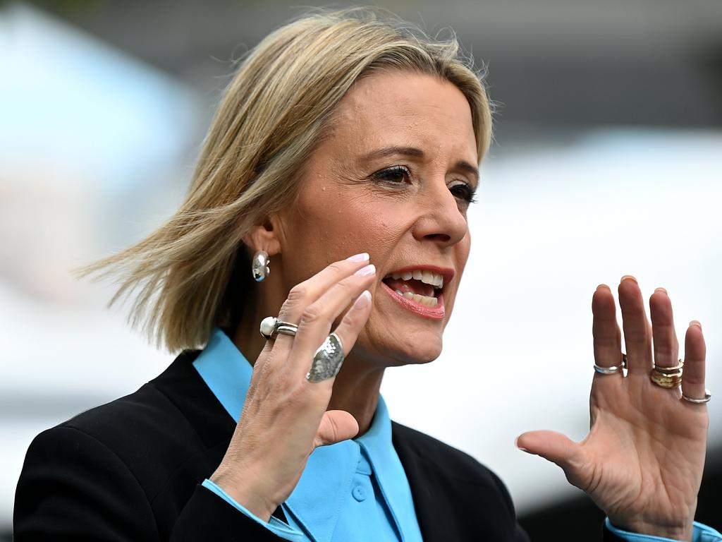 Kristina Keneally has accused the PM of 'flat-out' lies. Picture: NCA NewsWire/Bianca De Marchi