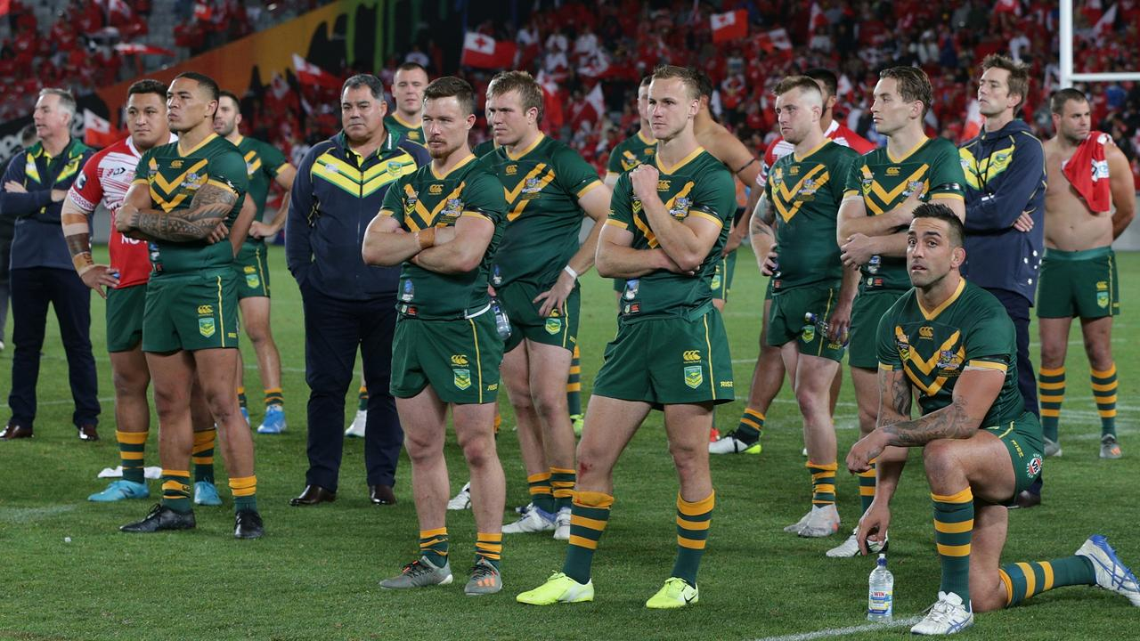 Just five members of the 2019 Kangaroos squad can consider themselves safe as Mal Meninga weighs up his green and gold contenders.