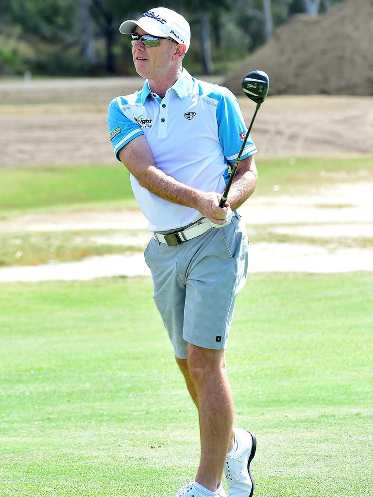 Professional golfer Glenn Joyner at the Rowes Bay Legends Pro-Am. Picture: Shae Beplate