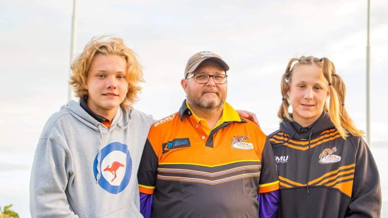 Jack Auguston, 15, Chris Auguston, and Donovan Ryan-Ellul, 15, raised $4000 for the Mackay and Pioneer Valley Relay as the two teenagers shaved off their hair at the Wests Rugby Leagues Club, on Saturday September 12.