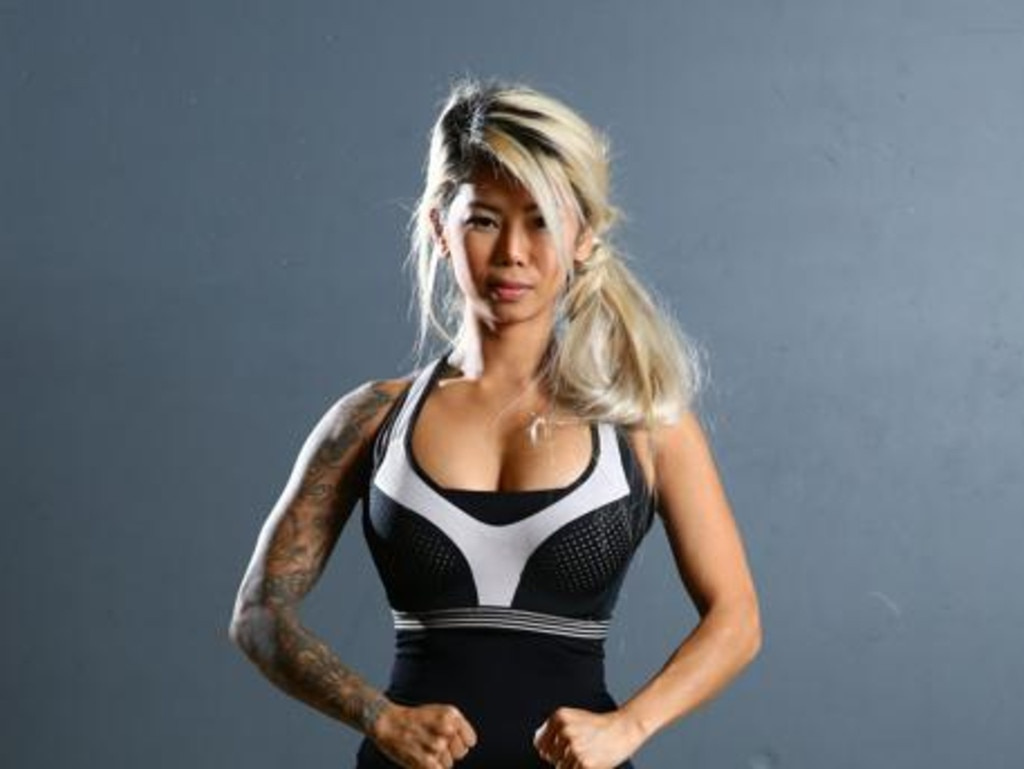 Former Ninja Warrior contestant Sopiea Kong, 31, was arrested earlier this month. Photographer: Liam Kidston.