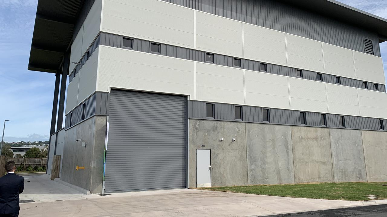 The new facility will be the central collection point of waste for the new Maroochydore CBD.