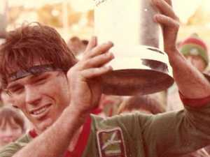 A cold beer with . . . 'rock star' of Brisbane footy