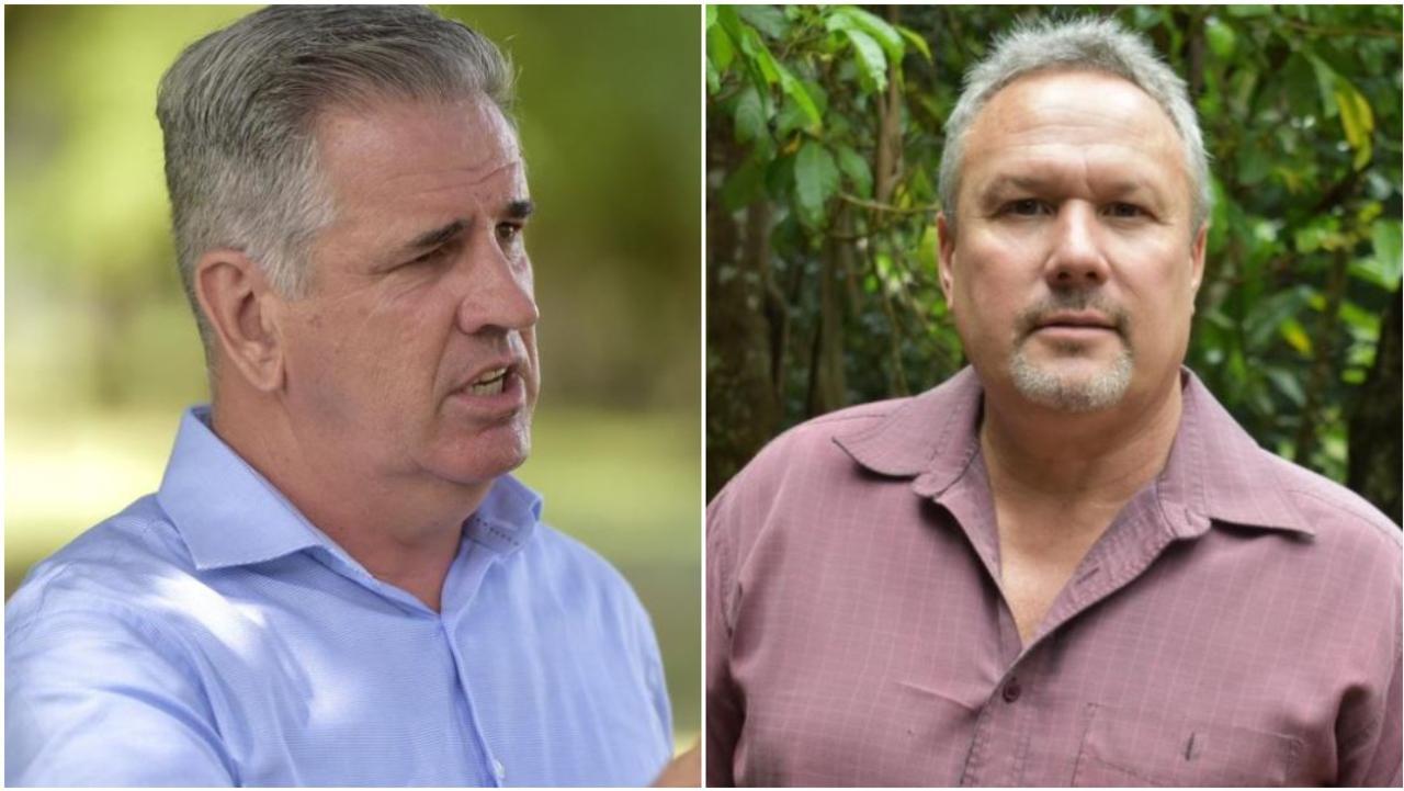 Burdekin MP Dale Last (left) and Mirani MP Stephen Andrew (right)