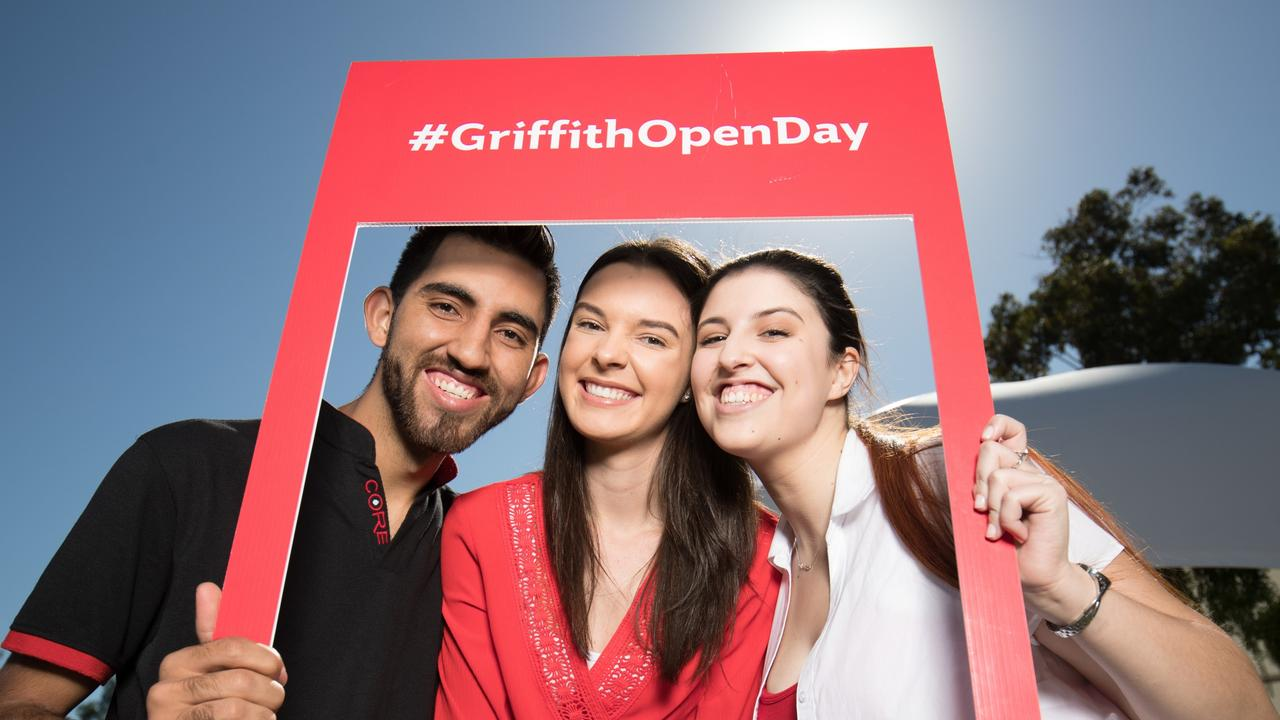 Griffith University has seen its place in this year's QS World University Rankings rise. Picture: Supplied