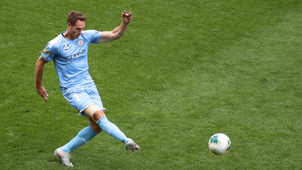 Melbourne City's Rostyn Griffiths is preparing for the A-League finals series. Picture: AAP Image/George Salpigtidis