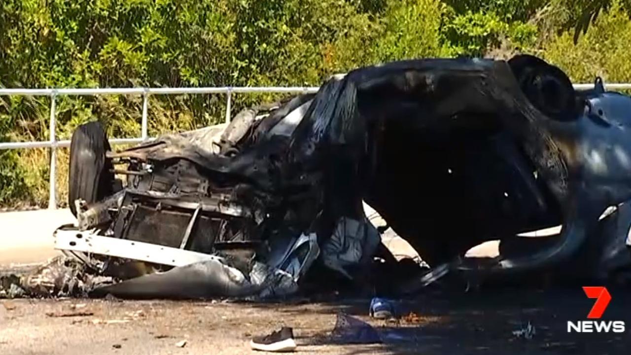 A 13-year-old boy was killed in a stolen car crash at Bowen.
