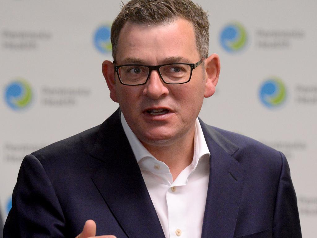 Support for the Andrews government dropped from 63 per cent last month to 48 per cent in June, according to a new poll. Picture: NCA NewsWire/Andrew Henshaw