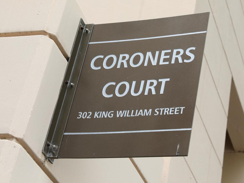 The inquiry is being heard in the Adelaide Coroners Court. Picture: NCA NewsWire / Dean Martin