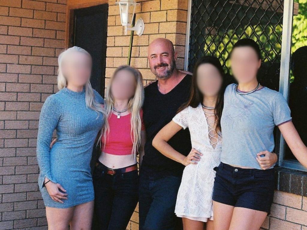 James Davis had several female partners before his arrest. Picture: ABC