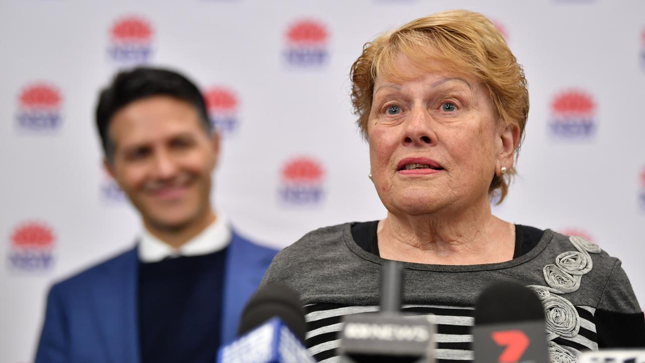 Gwayne addresses the media about her savings. Picture: NCA NewsWire/Joel Carrett