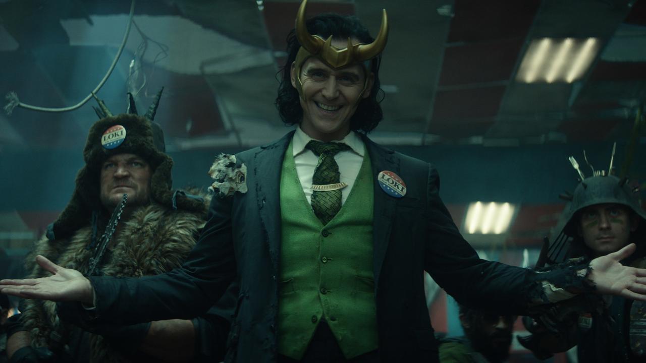 Tom Hiddleston reprises the villain in Marvel's Loki on Disney+ streaming.
