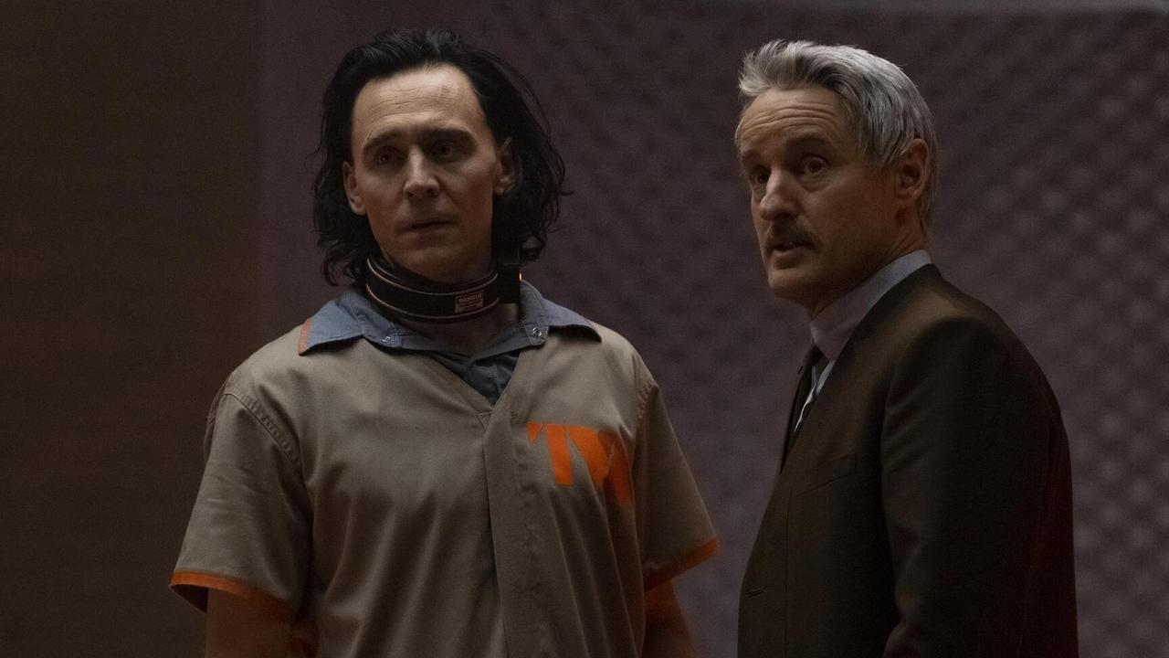 Tom Hiddleston and Owen Wilson are an unlikely duo in Loki.