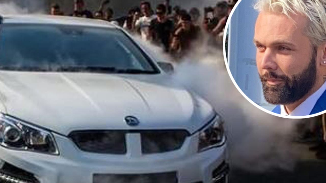 The lawyer for a man known as Candyman 2.0 has explained why he did a burnout in a public car park at a Gold Coast car show.