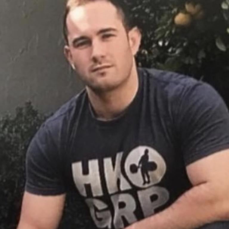 Thomas Sewell is accused of being a neo-Nazi leader charged over a terrifying alleged attack where about 15 white supremacist men stormed a car wearing balaclavas and stabbing knives through a front window because they allegedly incorrectly believed the occupants were in Antifa. Picture: Supplied via NCA NewsWire