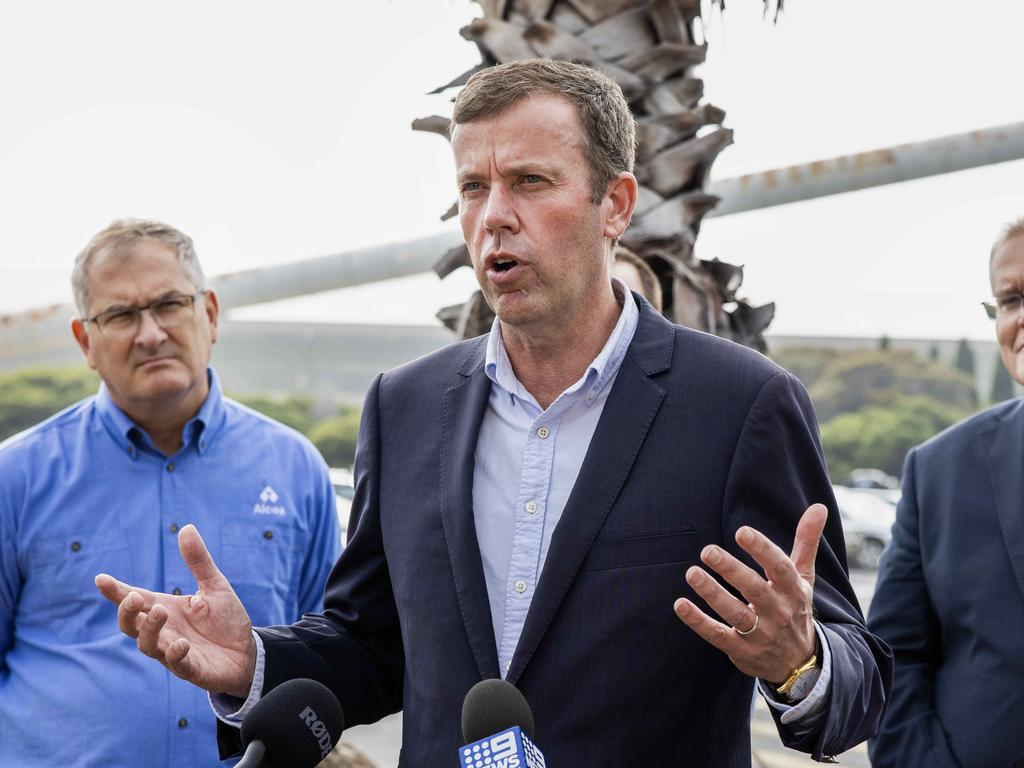 Dan Tehan says the questions are not 'grassy knoll conspiracies'. Picture: NCA NewsWire / Nicole Cleary